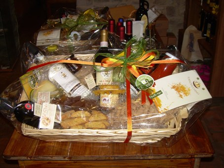 Gift baskets and delicious ideas!
